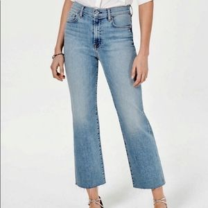 Denizen High Rise Wide Leg Jeans